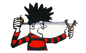 Dennis the Menace and Angry Birds