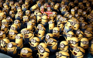 Despicable Me, Minions, and Where's Wally