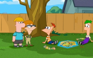 phineas and ferb-catan