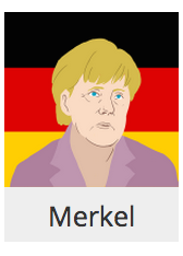 Angela Merkel on Agar.io