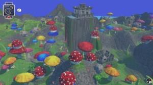LEGO Worlds Mushroom Biome
