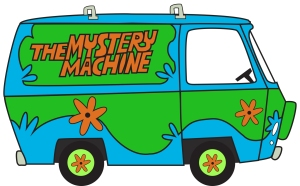 Mystery Machine from Scooby Doo