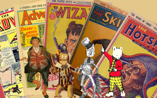 History of the British Comic Industry The Early Years
