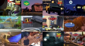 Pizza Planet Truck in Pixar Films