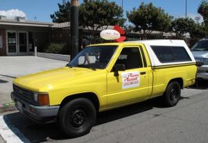 Real Life Pizza Planet Truck