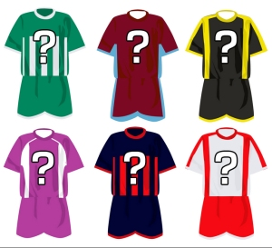 Football Shirt Numbers ?