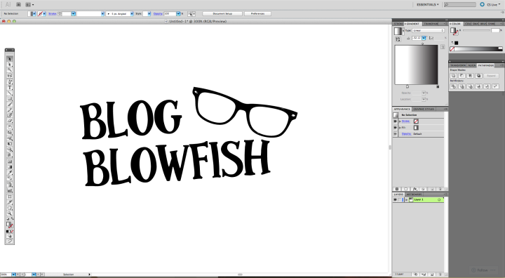 Sticker Effect in Adobe Illustrator 1