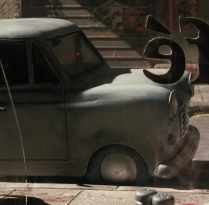 Wallace and Gromit Austin A35