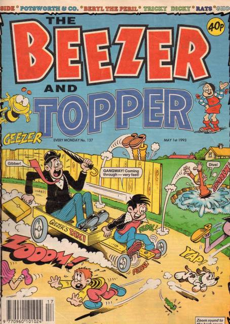 The Beezer and Topper Merged Comic from 1993