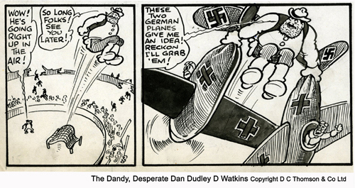 Desperate Dan During the War