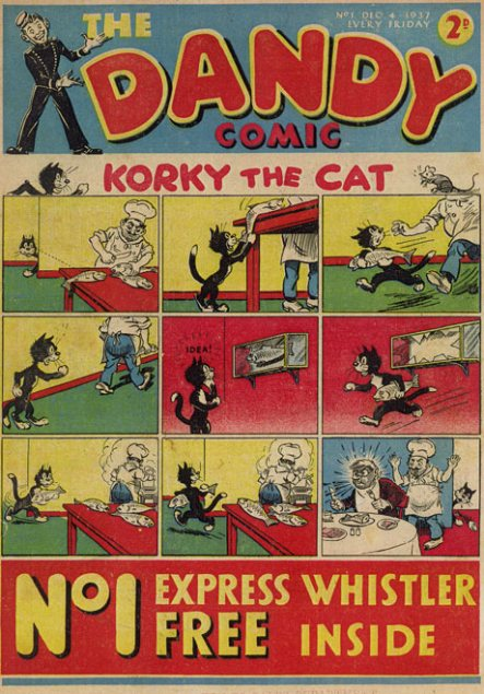 The First Ever Dandy Comic