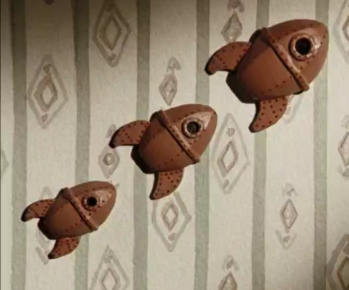 Wallace and Gromit Wall Rockets