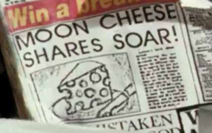 Wallace and Gromit Moon Cheese Shares SoarWallace and Gromit Moon Cheese Shares Soar