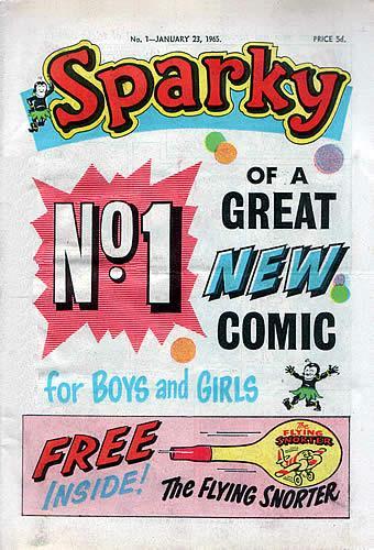 sparky comic 1