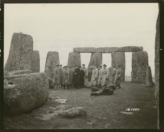 stonehenge world war 2