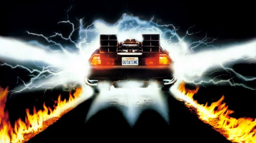 back-to-the-future-delorean time travel films