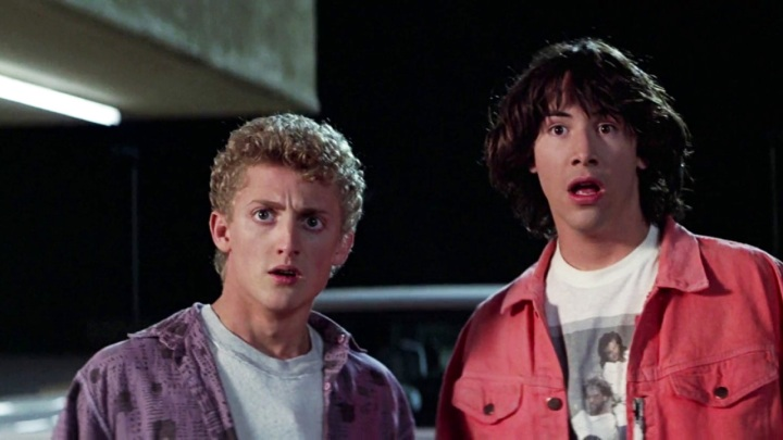 Bill-and-TEd Time Travel Movies Back to the Future