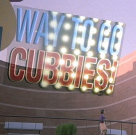Cubbies Back to the Future