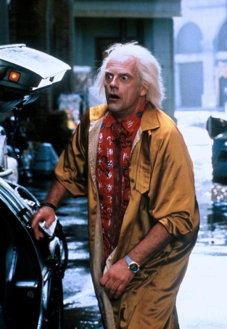 Doc Back to the Future Fashion
