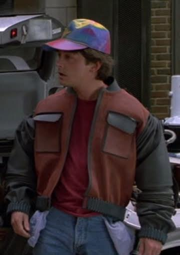 future marty mcfly back to the future fashion