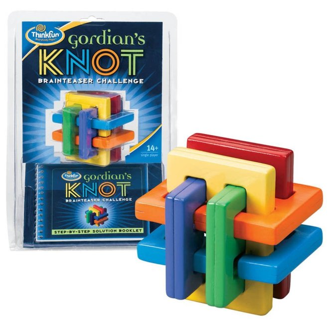 Gordian's Knot Toy