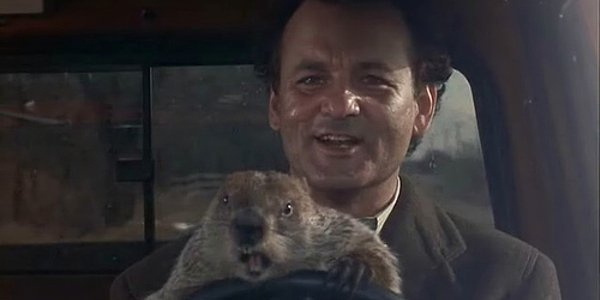 groundhog_day Back to the Future Time Travel Movies