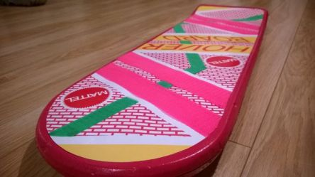 Make Your Own Hoverboard back to the Future