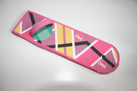 Paper Craft Back to the Future Hoverboard