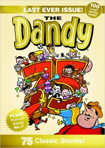 last ever dandy comic 75th anniversary