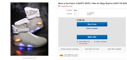 mags Ebay Back to the Future