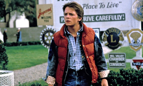 Marty McFly in Back To The Future