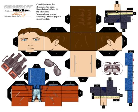 Marty McFly Cubeecraft Back to the Future Week