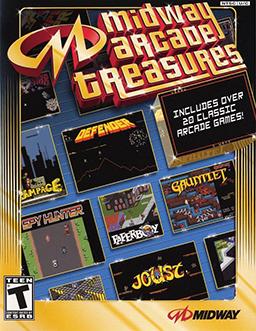 Midway Arcade Treasures Cover