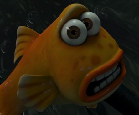Nemo Flushed Away Easter Eggs