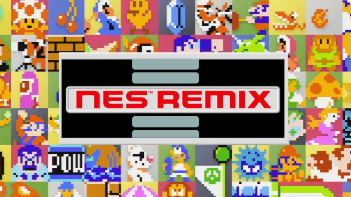 NES Remix Sprites