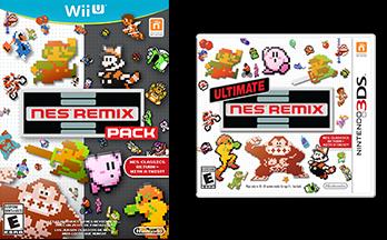 NES Remix Cover Arts