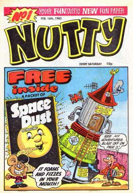 1st Nutty Comic