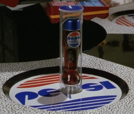 Pepsi Perfect Rising from the Counter Back to the Future