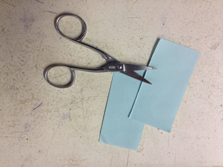 How to make a paper helicopter out of office supplies
