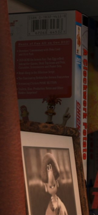 Wendolene and Chicken Run Flushed Away Easter Eggs
