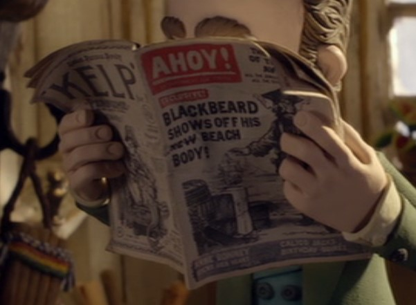 Ahoy! Pirates Aardman Easter Eggs