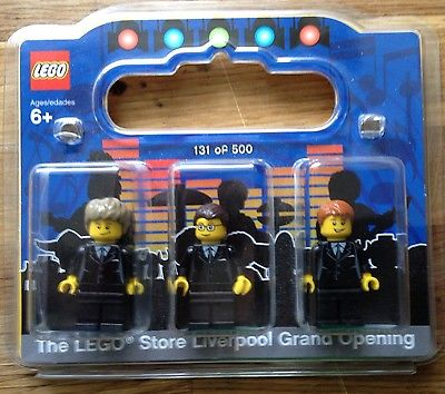 Lego Beatles Store Minifigures