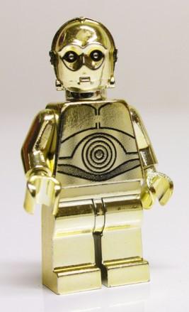 Gold C-3PO Lego Minifigure