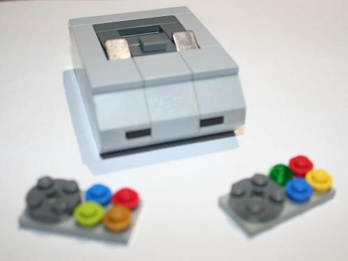 lego miniature SNES