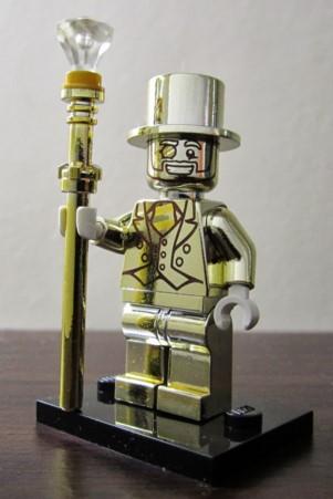 Mr Gold lego Minifigure