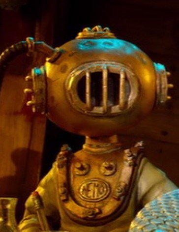 Captain Nemo Aardman Pirates Easter Eggs