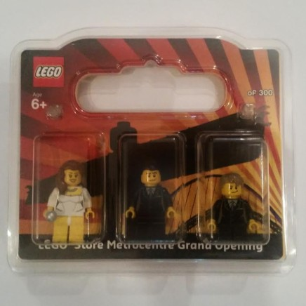 Newcastle Lego Store Minifigure Set