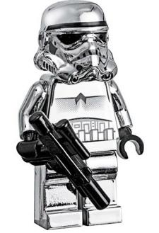 Silver Stormtrooper Lego Minifigure
