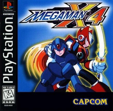 Megaman x4 ps1
