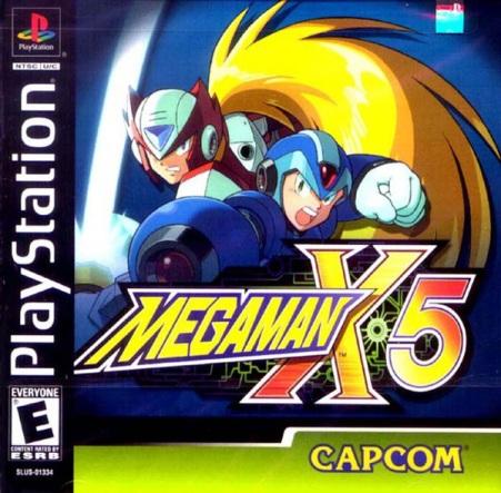 Megaman x5 ps1